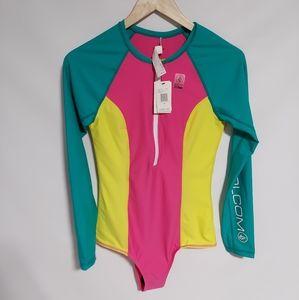 Multi color Volcom  body suit for women